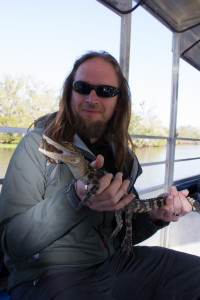 Me and an Aligator